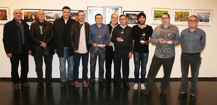 Fotografia de l'entrega de premis als guanyadors de la IV edició.