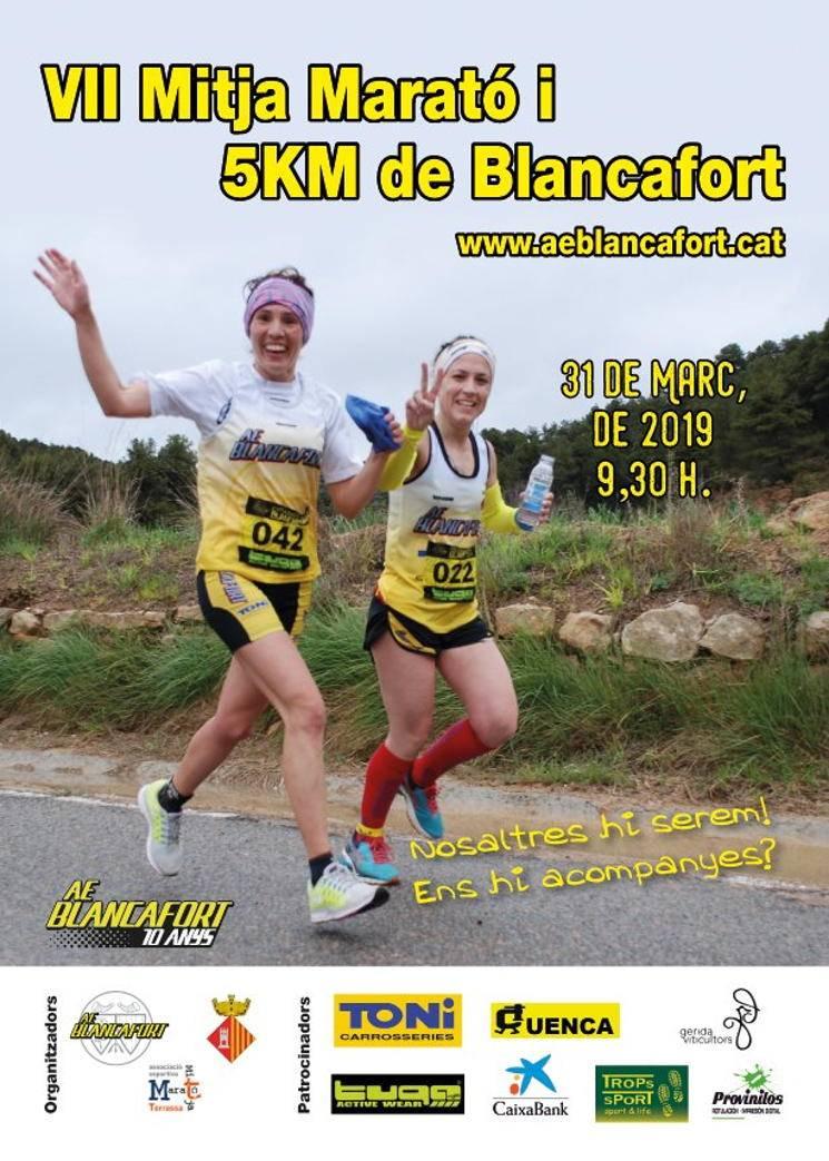 Mitja marató Blancafort 2019