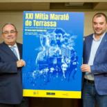 Presentació a l'alcalde i roda de premsa de la Mitja Marató 2020
