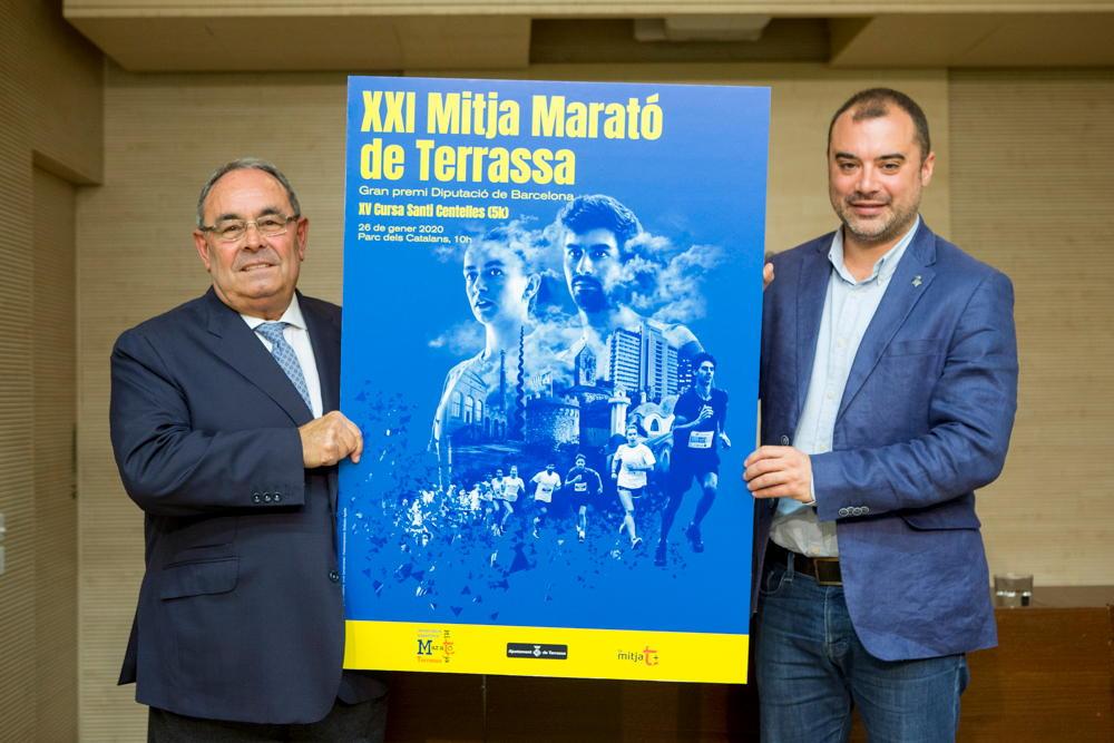 Presentació cartell Mitja Terrassa 2020