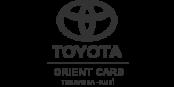 TOYOTA ORIENT CARS