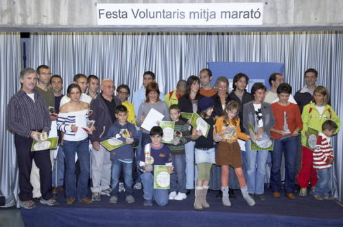 Mitja de Terrassa 2006 Festa voluntaris