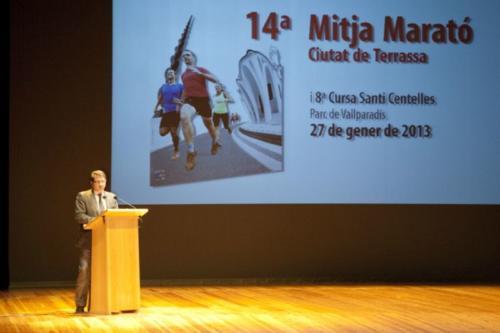Mitja de Terrassa 2013 Festa de presentació