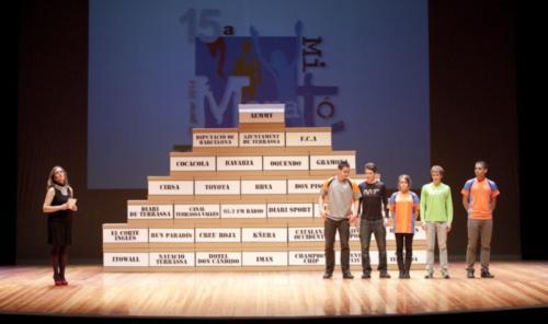 Mitja de Terrassa 2014 Festa de presentació